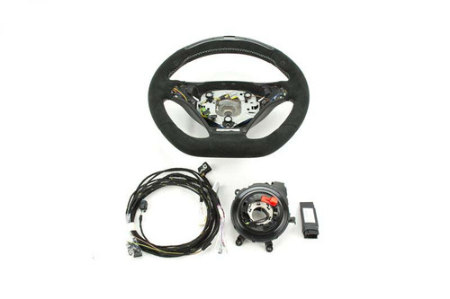 Genuine BMW Flat Bottom Steering Wheel with Race Display for DCT Transmission