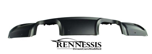 Rennessis M3 Look Quad Exhaust Centre Exit Diffuser for BMW E90 E91 Msport