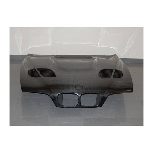 Rennessis GTR Style Vented Bonnet for BMW E39 5 Series & E39 M5 - Carbon Fibre