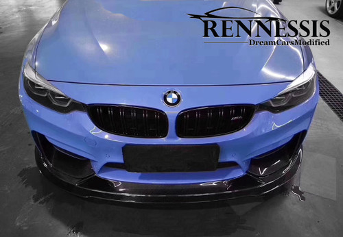 RENNESSIS BMW F80 M3 F82 F83 M4 GT3 Racing Carbon Fibre Front Splitter
