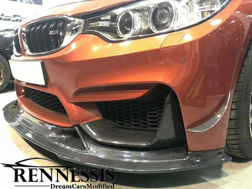 GT3 Racing Carbon Fibre Front Splitter for BMW F80 M3 F82 F83 M4