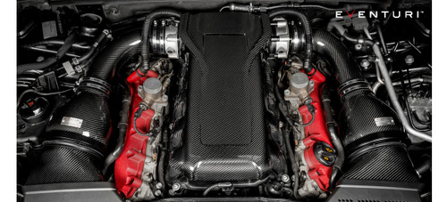Eventuri Audi RS4 RS5 B8 Carbon Fibre Engine Cover