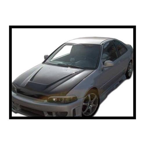 RENNESSIS HONDA CIVIC 1992-95 GTR Vented Carbon Fibre Bonnet