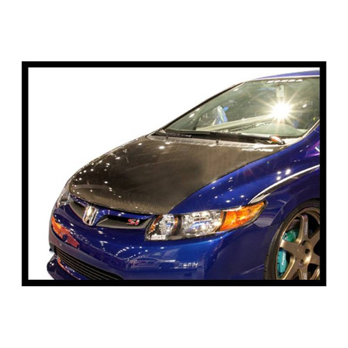 HONDA CIVIC 2006-10 Carbon Fibre Bonnet - OE Look