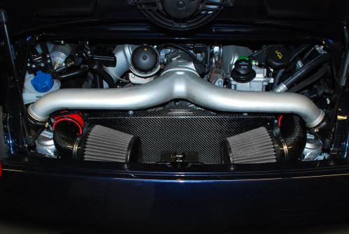Fabspeed Porsche 997 Turbo Carbon Intake System