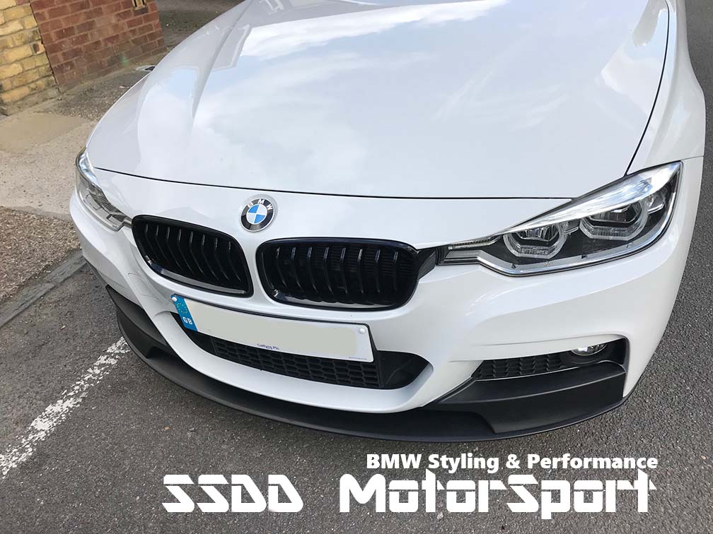 Rennessis High Gloss Black Kidney Grilles For F30 F31 3 Series
