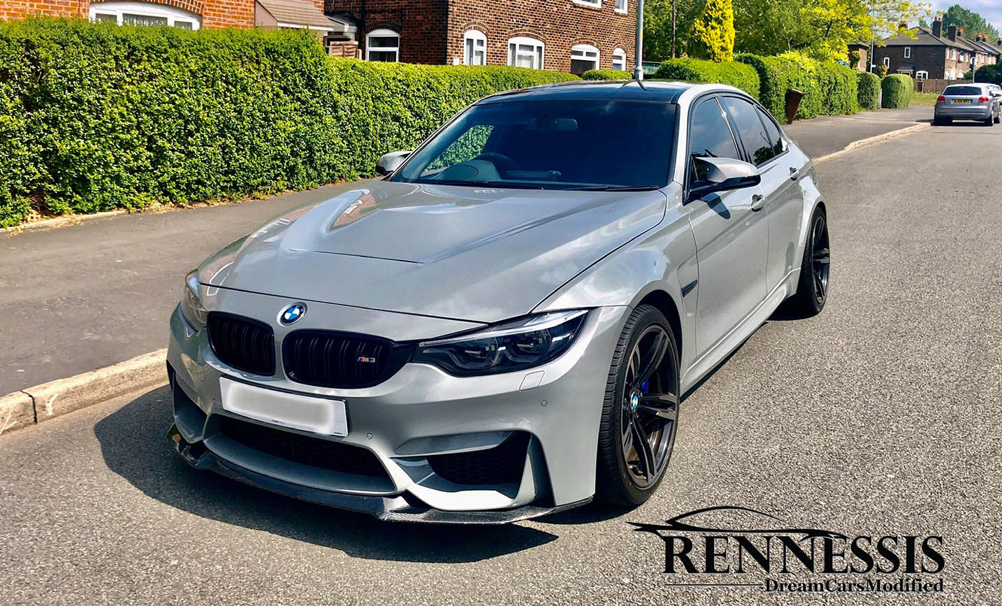 Bmw M4 Gts M3 M4 Cs Look Metal Bonnet Free Uk Shipping