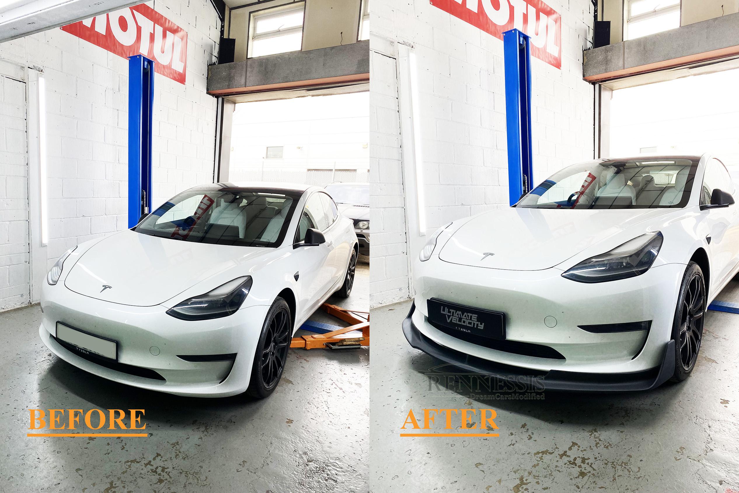 telsa-model-3-matt-matte-genuine-carbon-fibre-front-lip-splitter-vorsteiner-installed-before-and-after.jpg