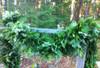 Mixed evergreen garland