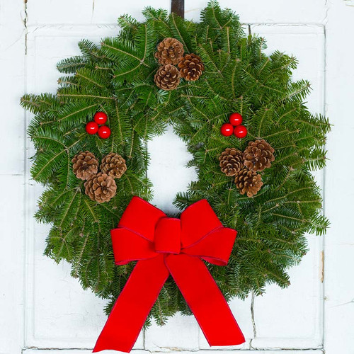 Downeaster Christmas Wreath Traditional Wreath