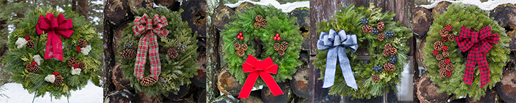 Fresh Christmas Wreaths For Corporate Gifts