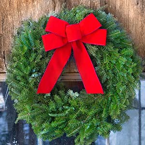 Classic Maine Wreath