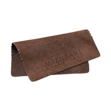Mizutani Cowhide Scissor Cloth - Brown (MZ-CLOTH-L)