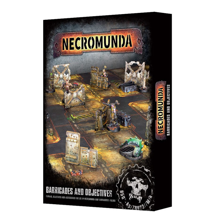Necromunda Barricades and Objectives NIB