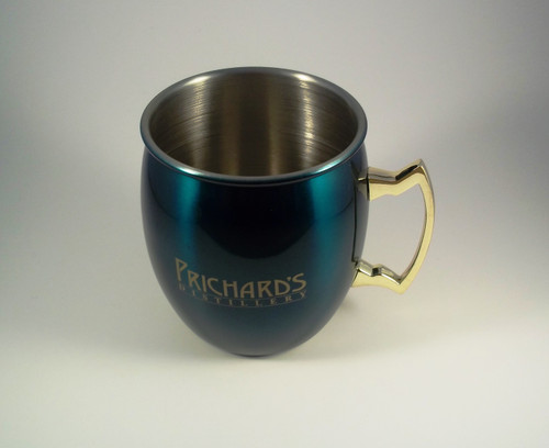 Emerald Green Moscow Mule Mug 16oz.