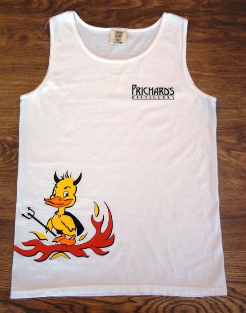 Sweet Lucifer Devil Duck Comfort Color Tank