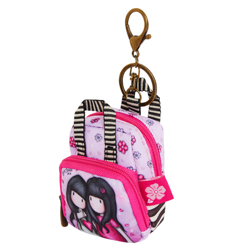 Santoro Gorjuss Sparkle and Bloom Keyring Purse Backpack You Can Be Mine