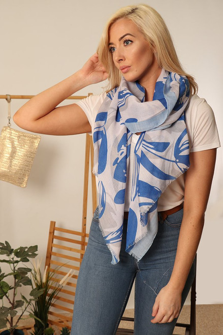 MSH 2872 - 100% Viscose - Blue