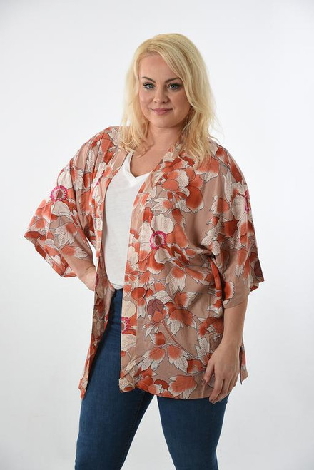 MSH Cover up 8427 - Short - Pink
