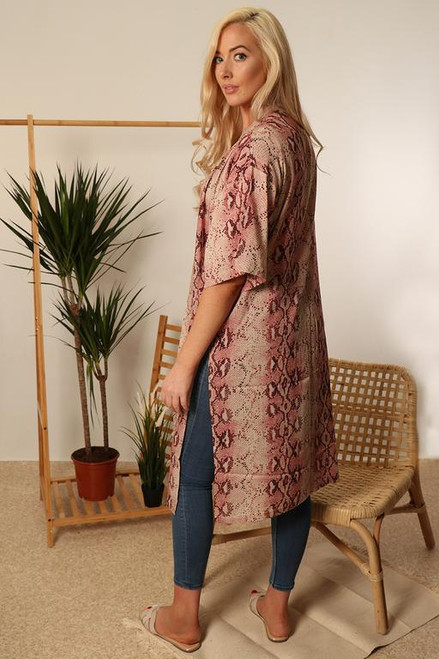 MSH Cover Up 8518 - Long - Pink