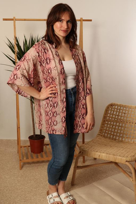 MSH Cover Up 8518 - Short  - Pink