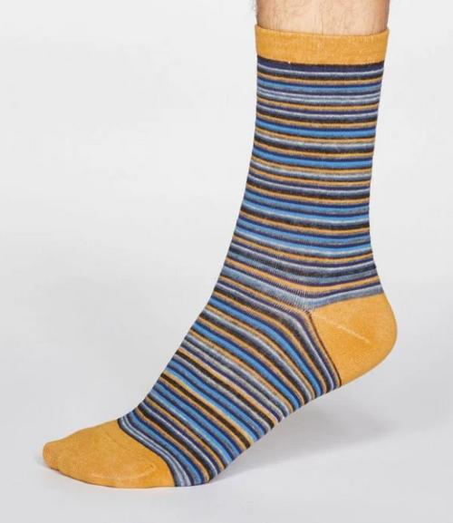 Mens Bamboo Jacob Stripe Socks