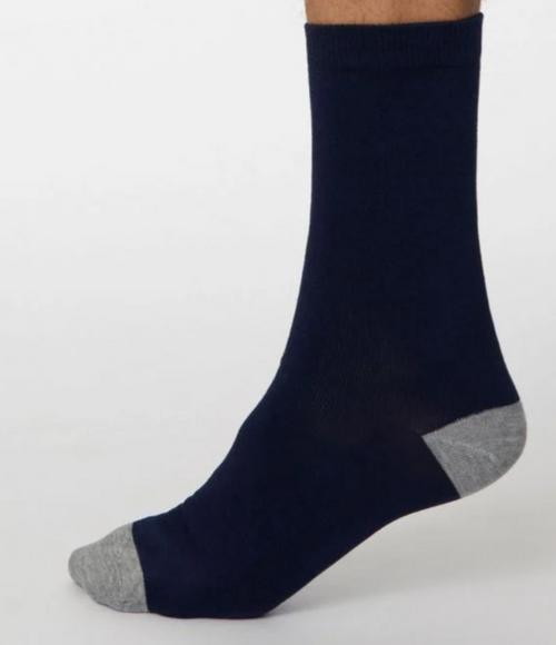 Thought Mens Plain Bamboo Socks