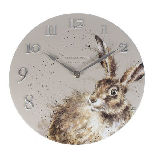 Wrendale Wall Clock - Hare