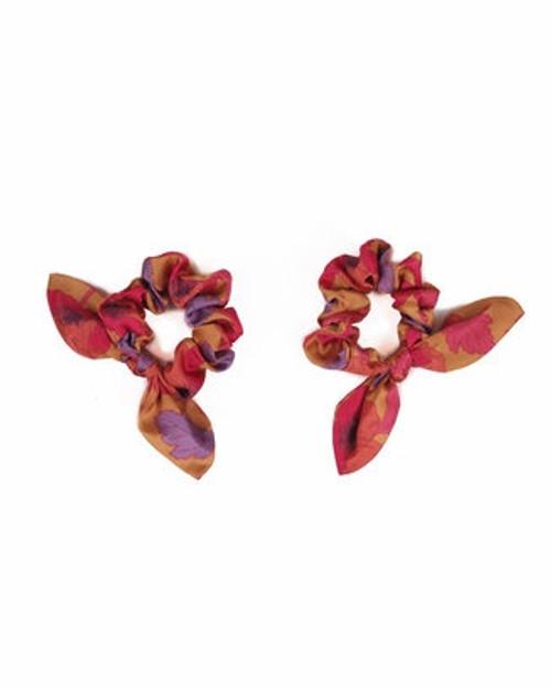 Powder Scrunchies - Poppy Bright