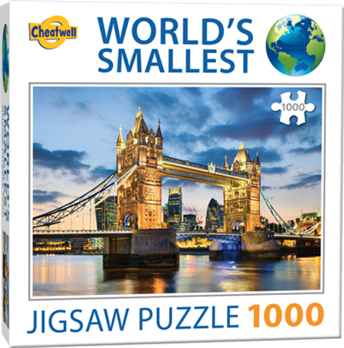 Cheatwell Games Worlds Smallest Puzzle London