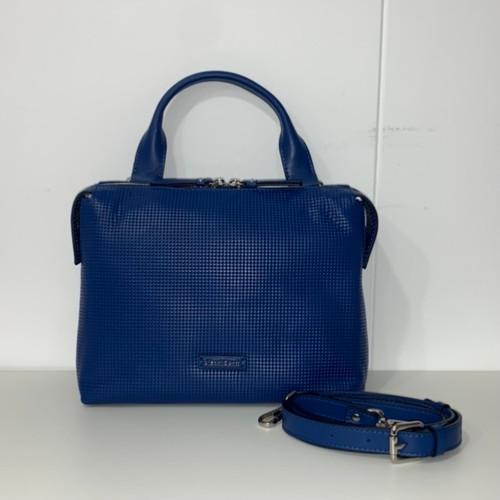 Gianni Conti Bluette Grab Bag With Crossbody Strap