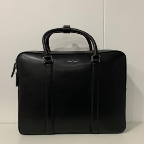 Gianni Conti Black Briefcase