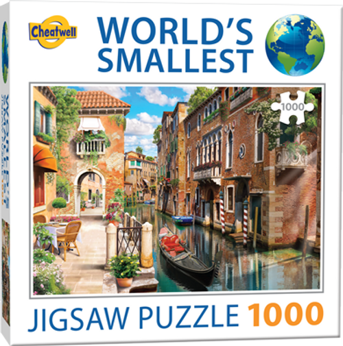 Cheatwell Worlds Smallest Puzzle Venice Canals