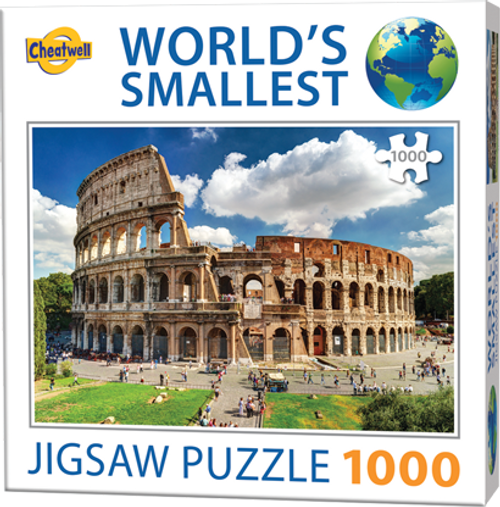 Cheatwell Worlds Smallest Puzzle The Colosseum Rome