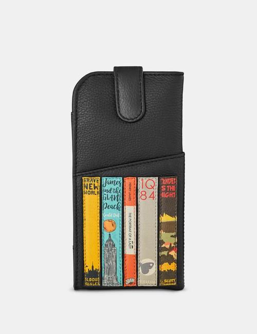 Yoshi Bookworm Black Glasses Case