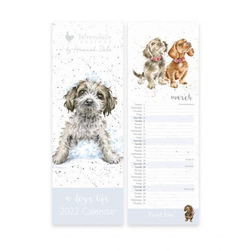 Wrendale 'A Dog's Life' Slim Calendar 2022