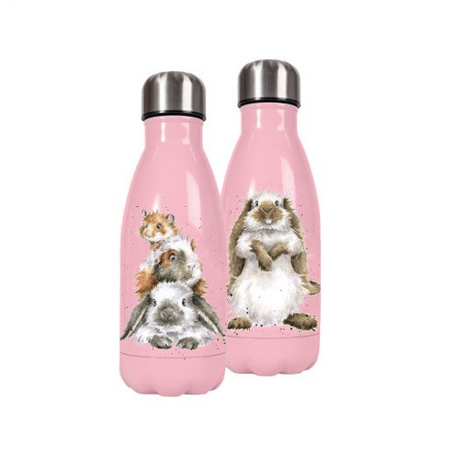 Wrendale 'Piggy in the middle' Bottle - Small (260ml)