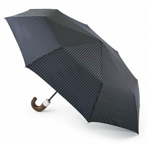 Fulton Men's Chelsea Stripe  Automatic Umbrella - Navy