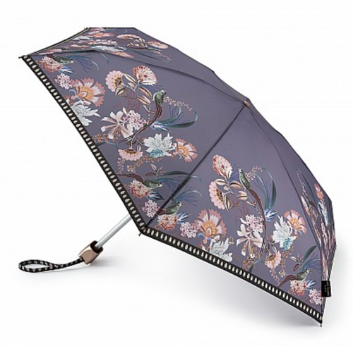 Ted Baker Compact Umbrella - Purple Floral