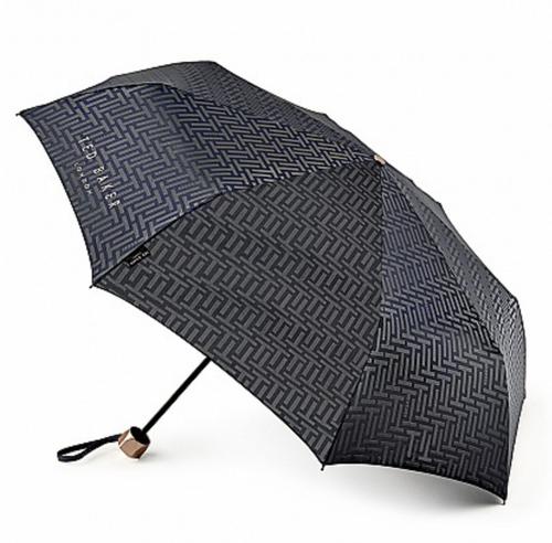 Ted Baker Minilite Umbrella - Navy