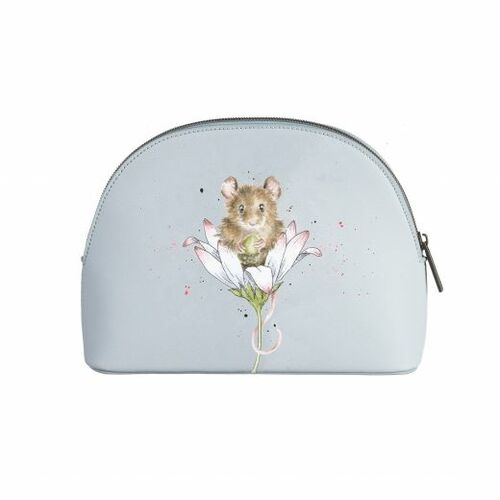 Wrendale Medium Mouse And Daisy Cosmetic Bag