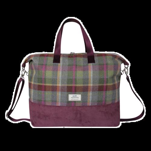 Earth Squared Tweed Weekend Bag Clover