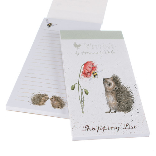 Wrendale Magnetic Shopping List - 'Busy as a Bee'