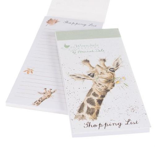 Wrendale Magnetic Shopping List - 'Flowers'