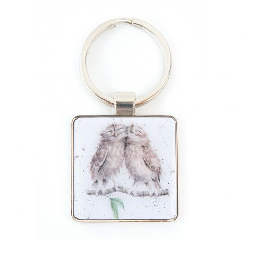 Wrendale Keyring - 'Birds of a Feather'