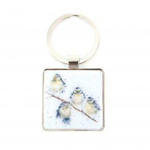 Wrendale Keyring - 'Hanging Out With Friends'