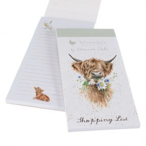Wrendale Shopping Pad - Daisy Coo