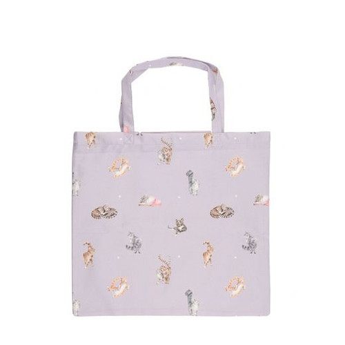 Wrendale Foldable Shopping Bag - 'The Snuggle Is Real'