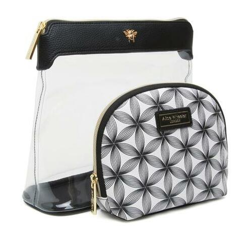 Alice Wheeler Floral Travel Gift Set - Black/White