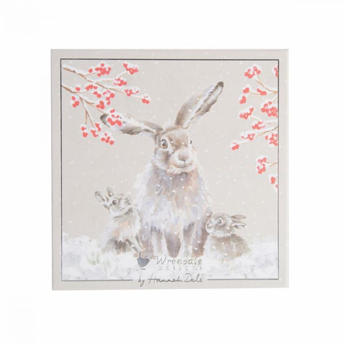 Wrendale Luxury Boxed Cards - 'Snowfall'